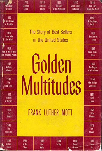 9781122296632: Golden multitudes;: The story of best sellers in the United States