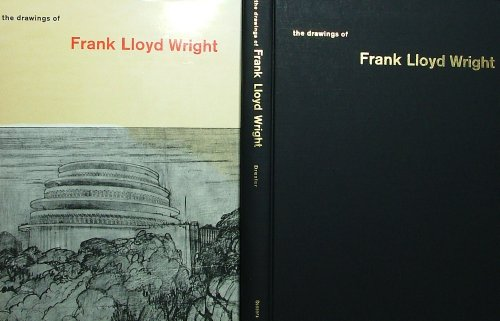 9781122315081: The drawings of Frank Lloyd Wright