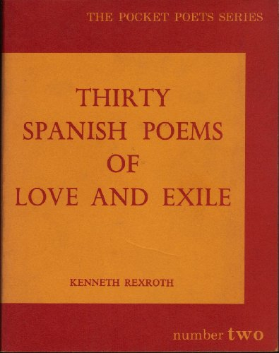 9781122521604: Thirty Spanish Poems of Love and Exile