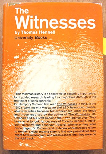 9781122635639: The witnesses (Library of the mystic arts; a library of ancient and modern classics)