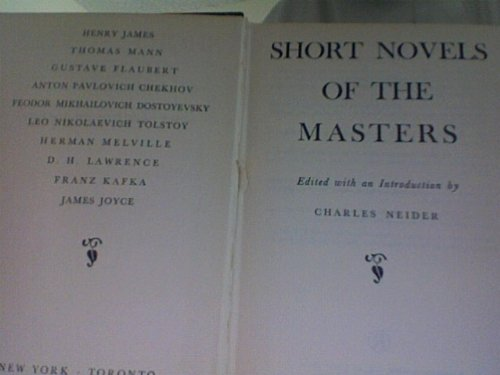9781122673372: Short Novels of the Masters