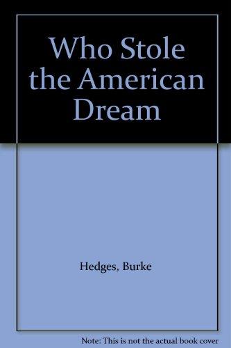 9781122675864: Who Stole the American Dream