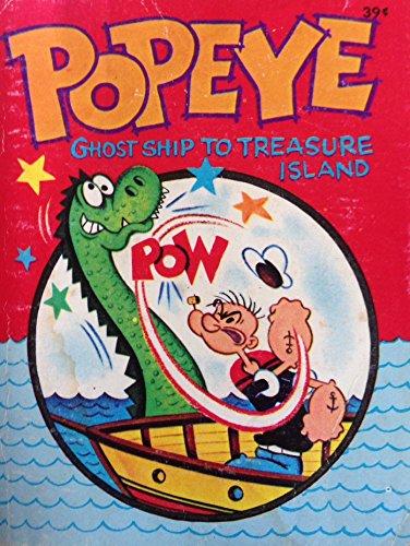 9781122703109: Popeye in ghost ship to Treasure Island (Big little books)