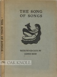 9781122710374: Song of Songs With Woodcuts By James Rei