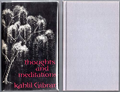 9781122712866: Thoughts and Meditations
