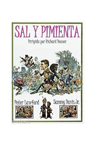 9781122820325: SALT AND PEPPER (Region 2 import) Sammy Davis Jr., Peter Lawford