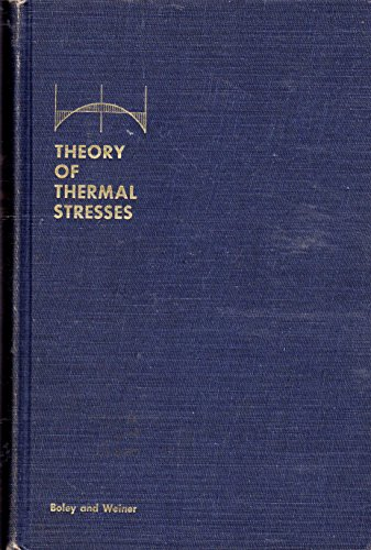 9781124008226: Theory of thermal stresses