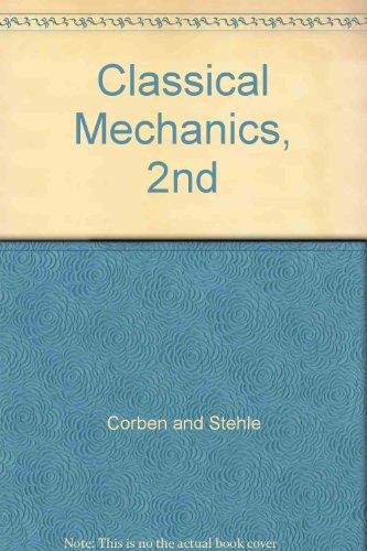 9781124011592: Classical Mechanics 2Nd Edition