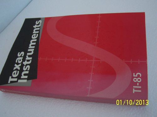 9781124028866: Ti 85 Graphing Calculator Guidebook