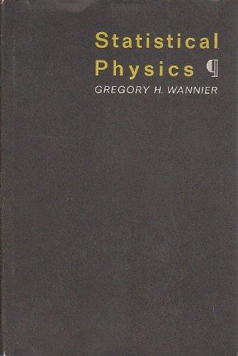 9781124046389: Statistical physics