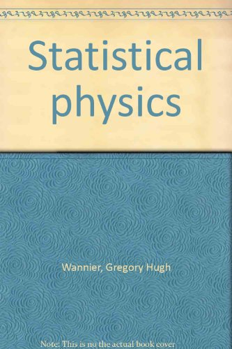 9781124046389: Statistical Physics