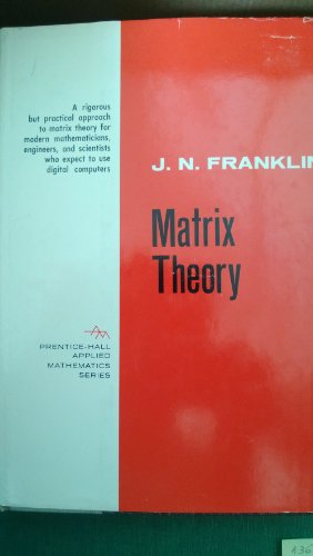 9781124108056: Matrix Theory