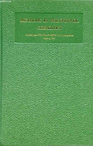 Methods in Polyphenol Chemistry: Pridham, J. B
