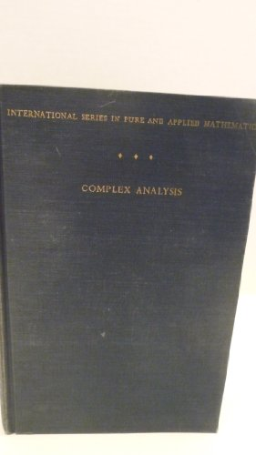 9781124111148: Complex Analysis An Introduction to the Theory of Analytic Functions of One Comples Variable