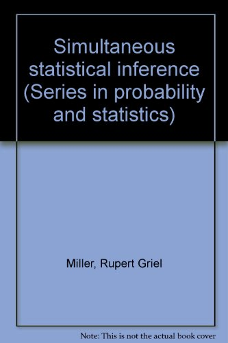 9781124136066: Simultaneous Statistical Inference (Series in probability and statistics)