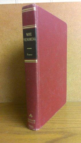 9781124147970: Wave Phenomena [Gebundene Ausgabe] by Towne, Dudley H