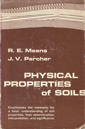 9781124154985: PHYSICAL PROPERTIES OF SOILS.