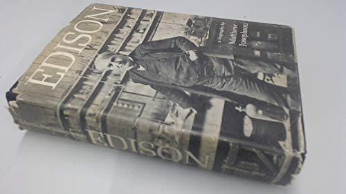 9781124168982: Edison; a Biography [Gebundene Ausgabe] by Josephson, Matthew