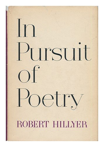 9781125128749: In Pursuit of Poetry