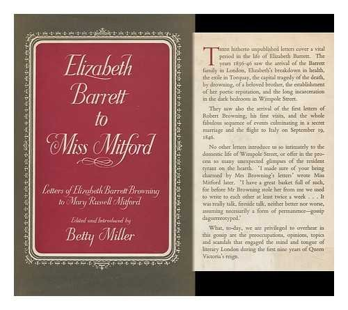 9781125172643: Elizabeth Barrett To Miss Mitford