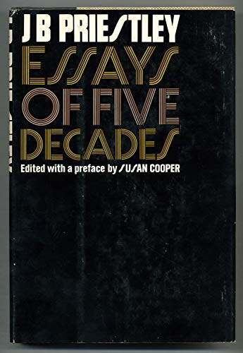 9781125197738: Essays of Five Decades
