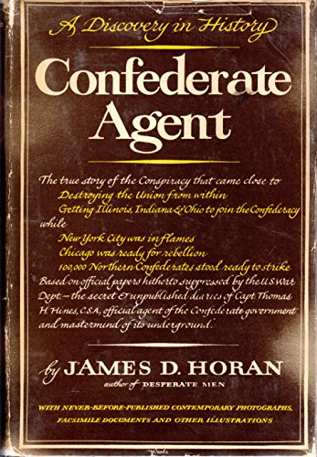 9781125210338: Confederate Agent: A Discovery in History