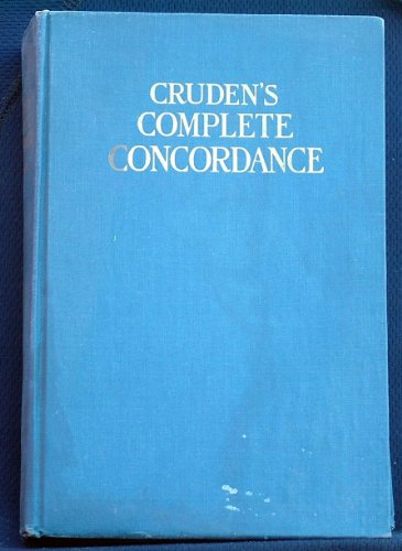 9781125212325: Crudens Complete Concordance