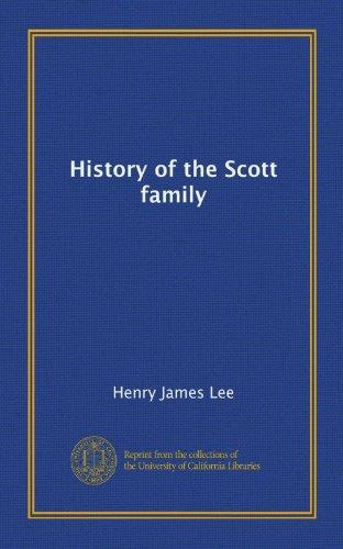 9781125243909: History of the Scott family