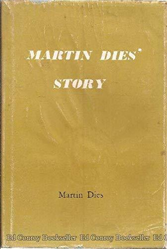 9781125249727: Martin Dies' Story