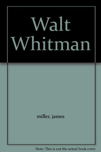 9781125255285: Walt Whitman