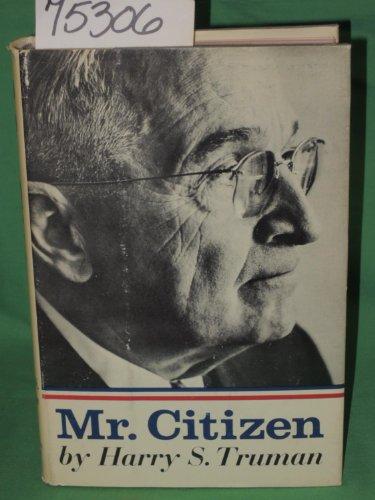 9781125280652: Mr. Citizen