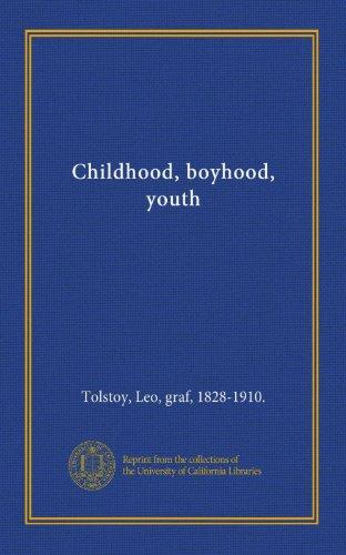 9781125399507: Childhood, boyhood, youth