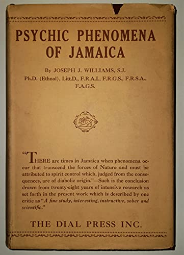 Psychic Phenomena of Jamaica: Williams, Joseph John