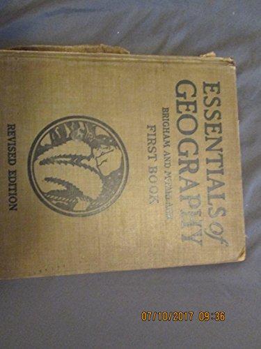 Essentials of Geography; Second Book: Brigham & McFarlane