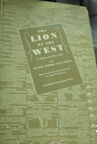 9781125624944: The Lion of the West