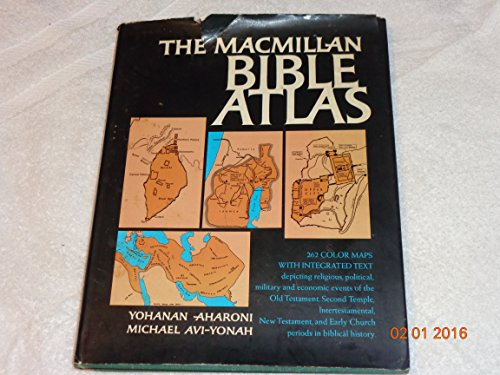 9781125646304: Macmillan Bible Atlas