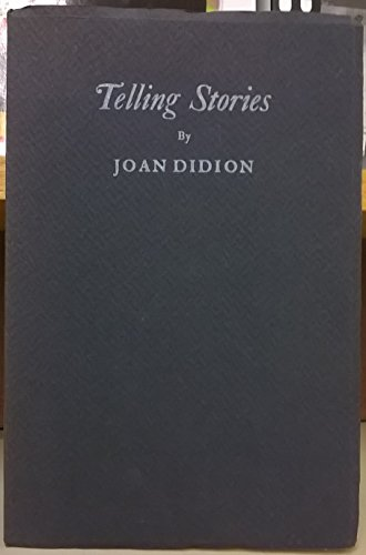 9781125650448: Telling Stories (Series of Keepsakes Issued by the Friends of Bancroft Library, No. 26)