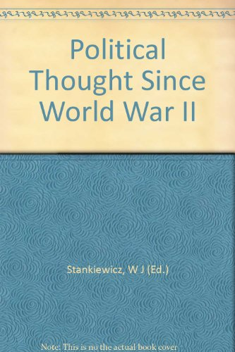 9781125664803: Political Thought Since World War II