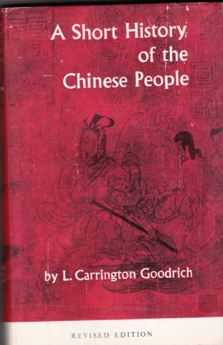 9781125683248: A Short History of the Chinese People
