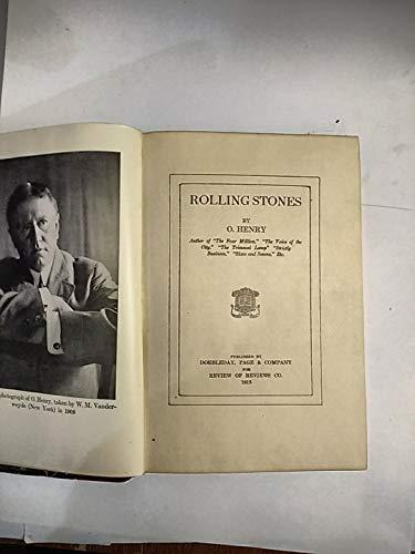 Rolling Stones: PORTER, William Sydney