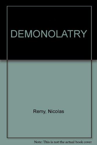 9781125721179: Demonolatry [Gebundene Ausgabe] by ReMy, NicolAs