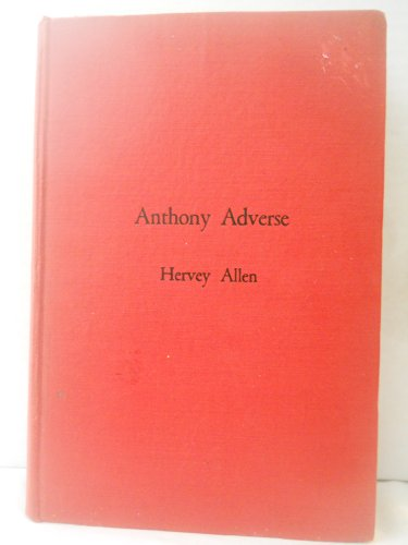 9781125722459: Anthony Adverse