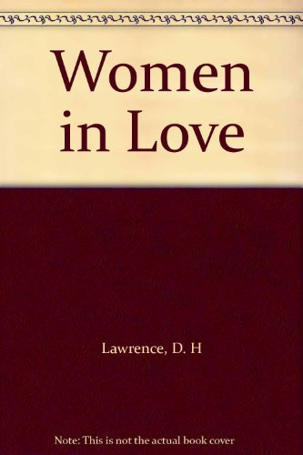 9781125741863: Women in Love