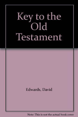 9781125761311: A Key To The Old Testament