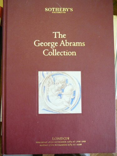 Sothebys George Abrams Collection (9781125808788) by Sothebys