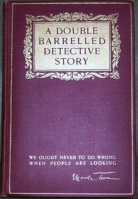 9781125843093: A double barrelled detective story