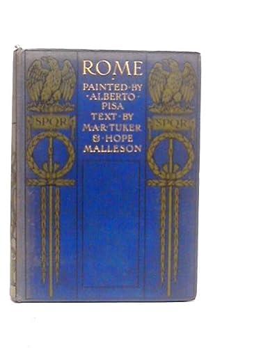 9781125845141: Rome,