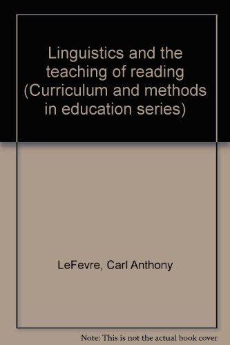 9781125855249: Linguistics and the Teaching of Reading