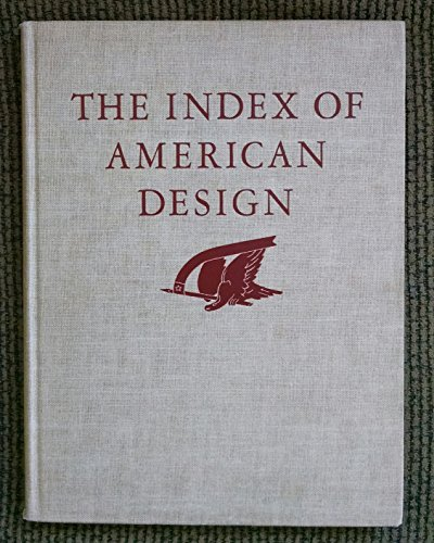 9781125895825: The Index of American Design