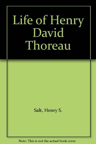 9781125903377: Life of Henry David Thoreau